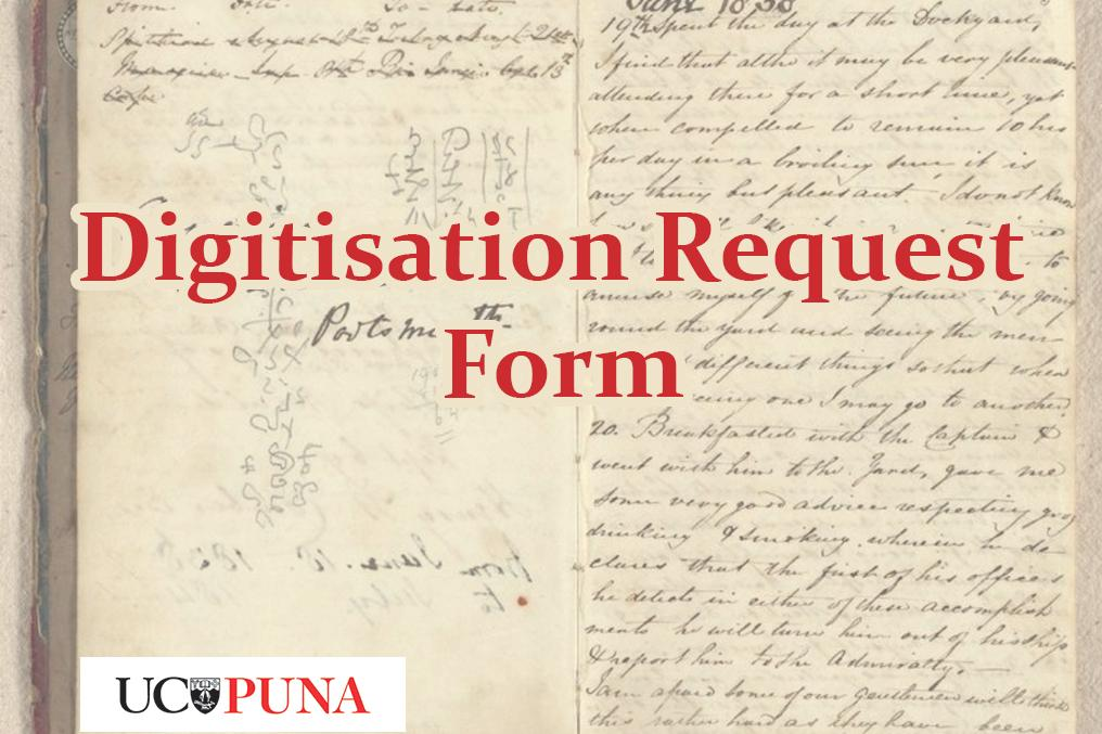 library digitisation request form