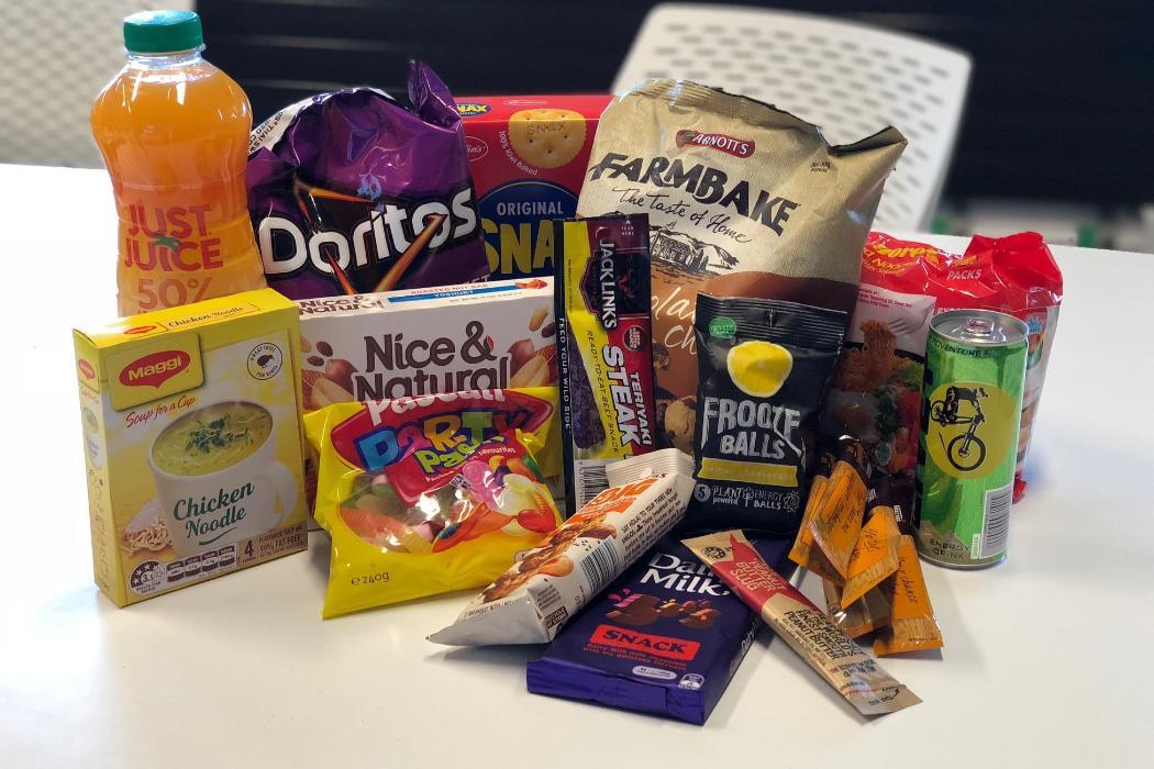 exam food pack