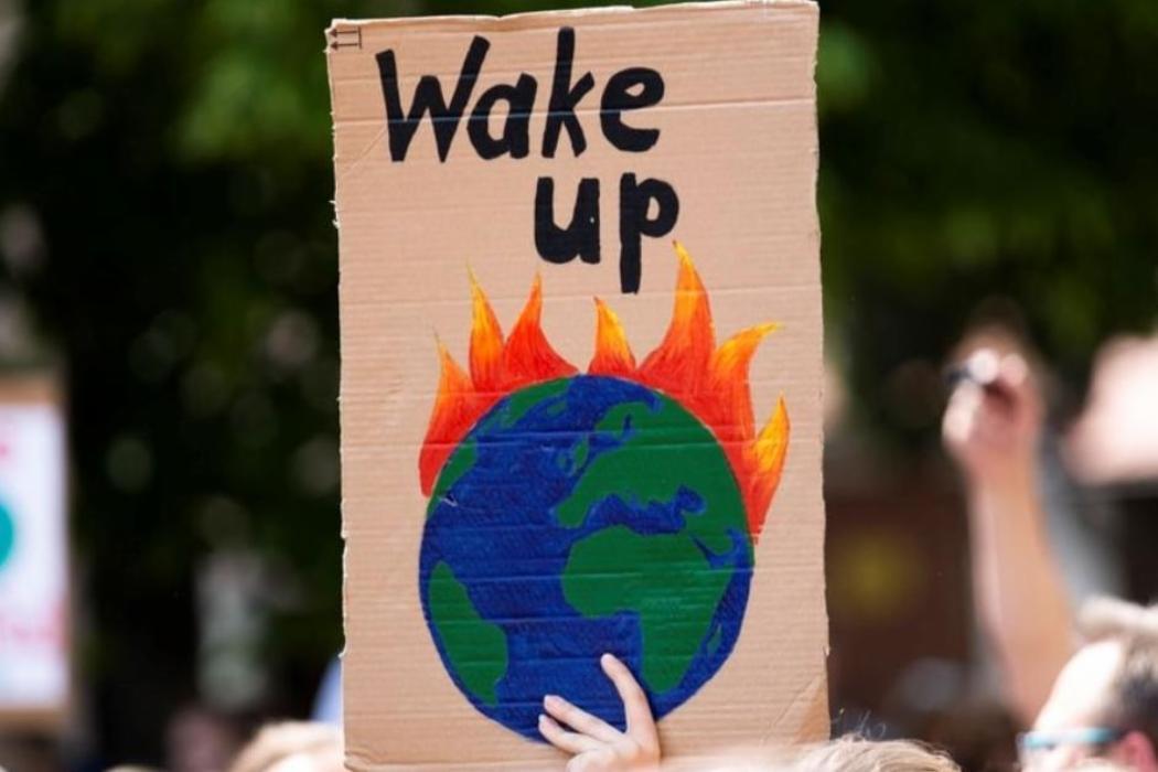 Wake up climate change