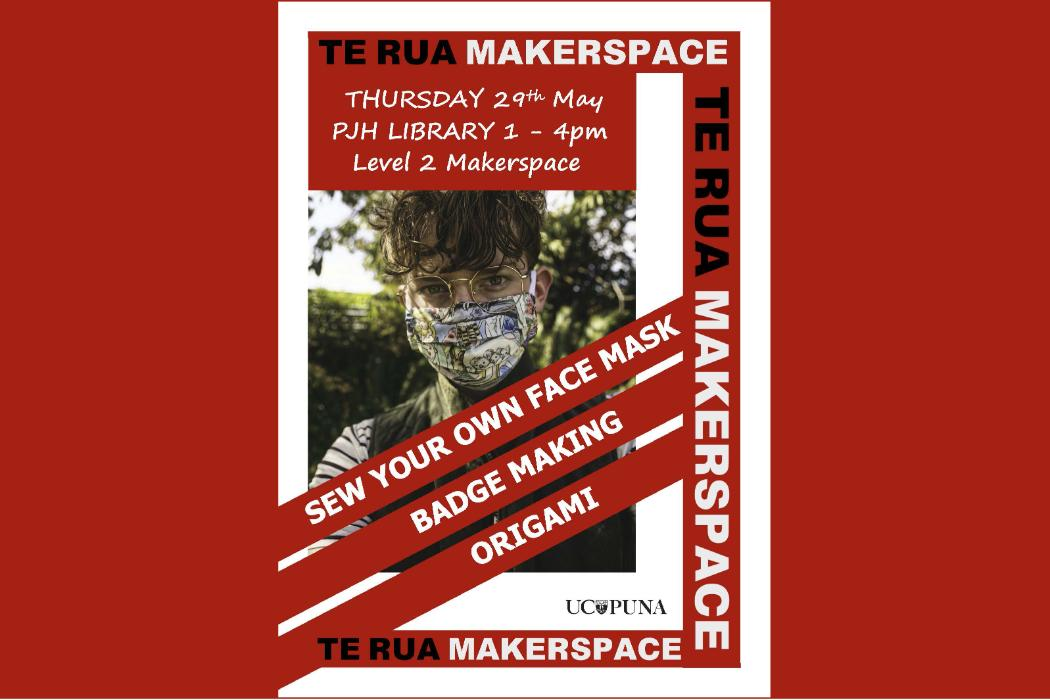 Makerspace sew mask event