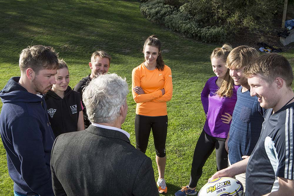 Bachelor of Sport Coaching session