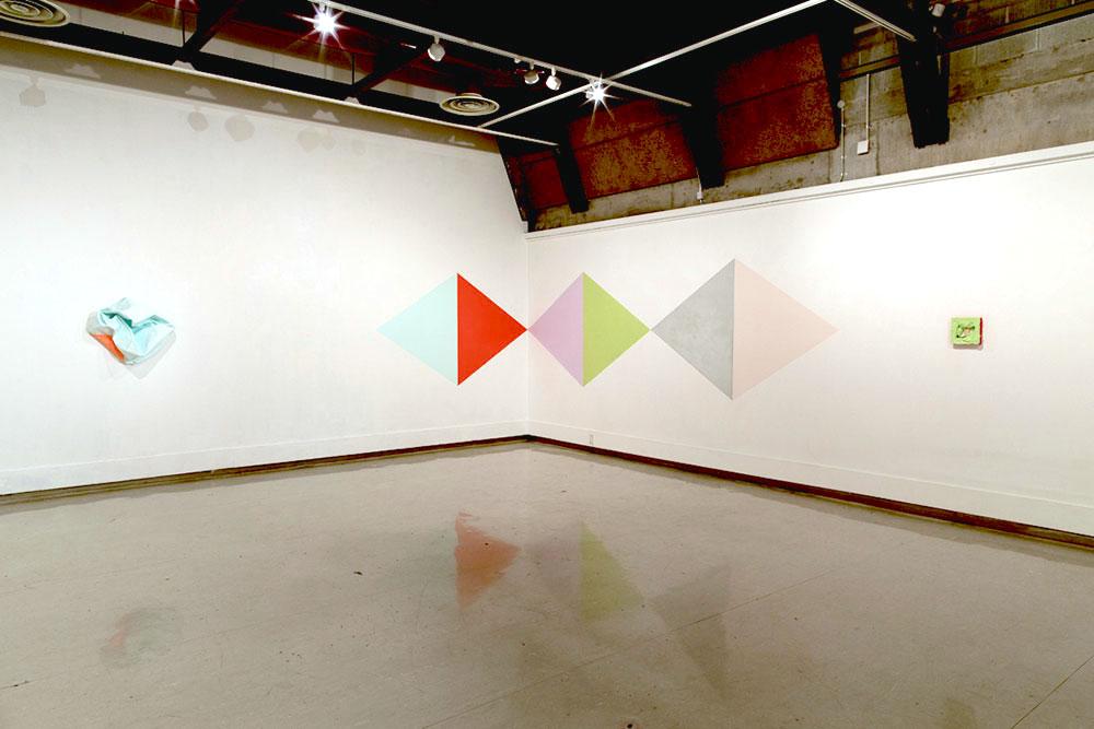 Miranda Parkes exhibition, Ilam campus gallery, May 2014
