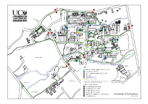 Campus cycle map