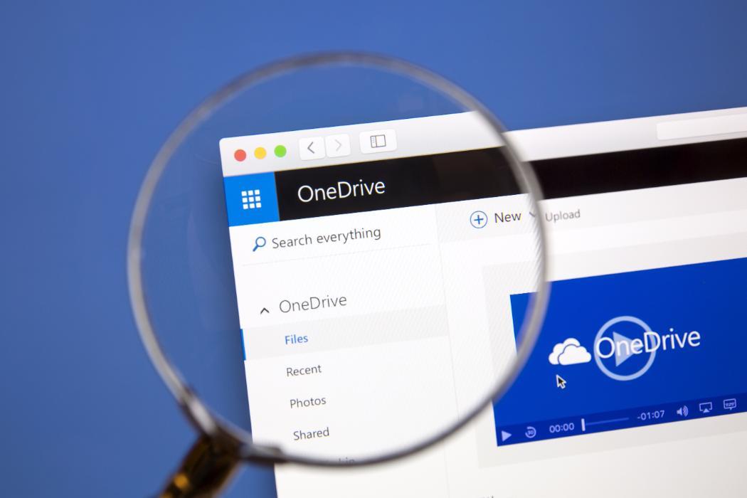 OneDrive login image