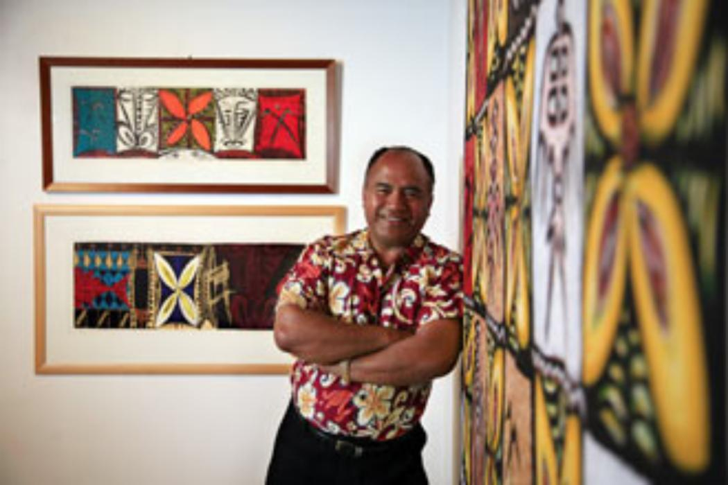 """""""Father of Pacific art"""" returns to UC"""