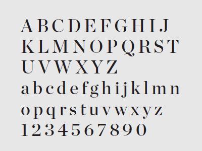 UC Fonts - Chronicle Display