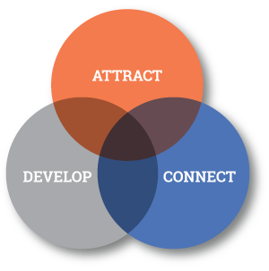 Attract Develop Connect