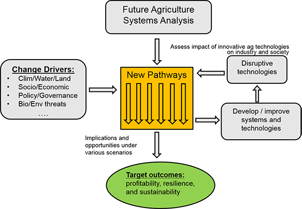 Future Agriculture Systems Analysis diagram