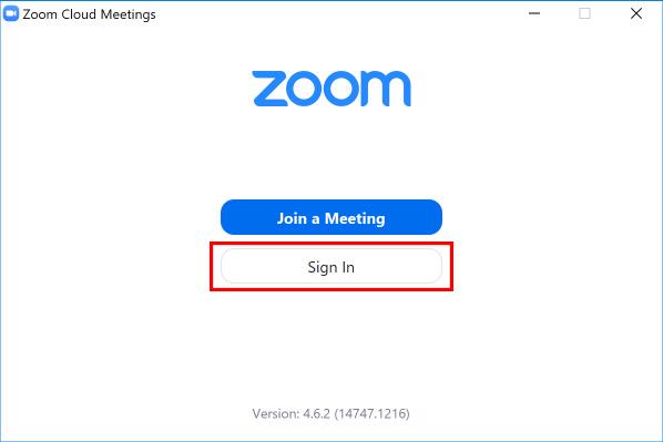 Zoom setup 2