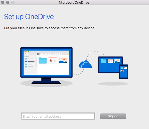OneDrive AppSetUp