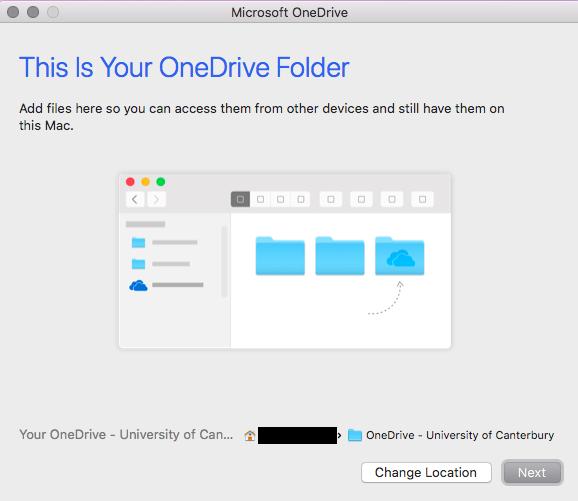 OneDrive Folder Location