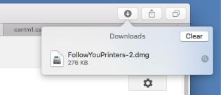 Printer configuration FollowYou Printer install