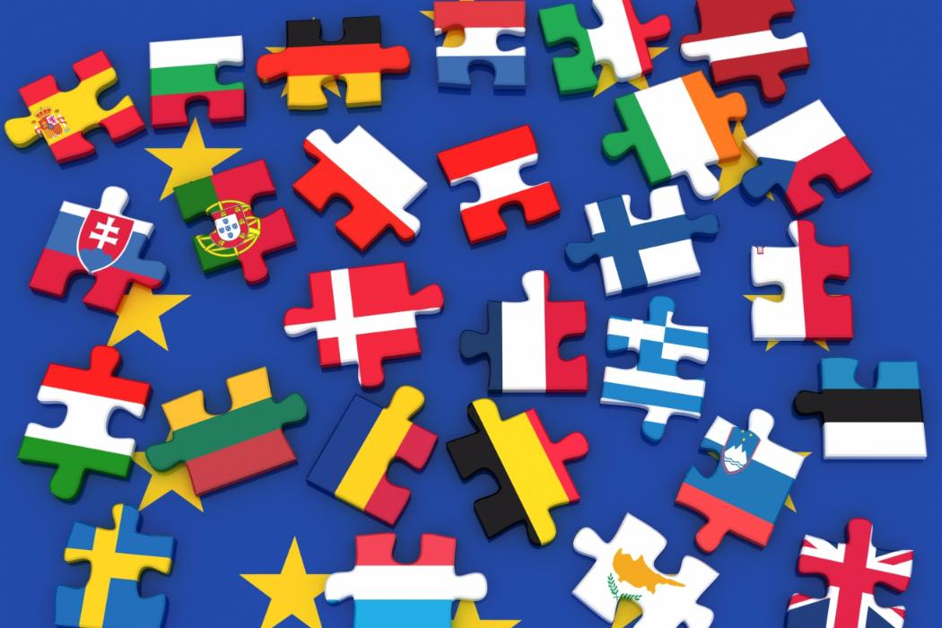 European flags puzzle