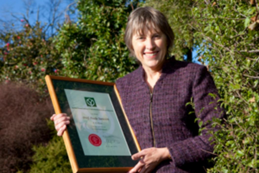 UC academic's contribution to NZ horticultural science recognised