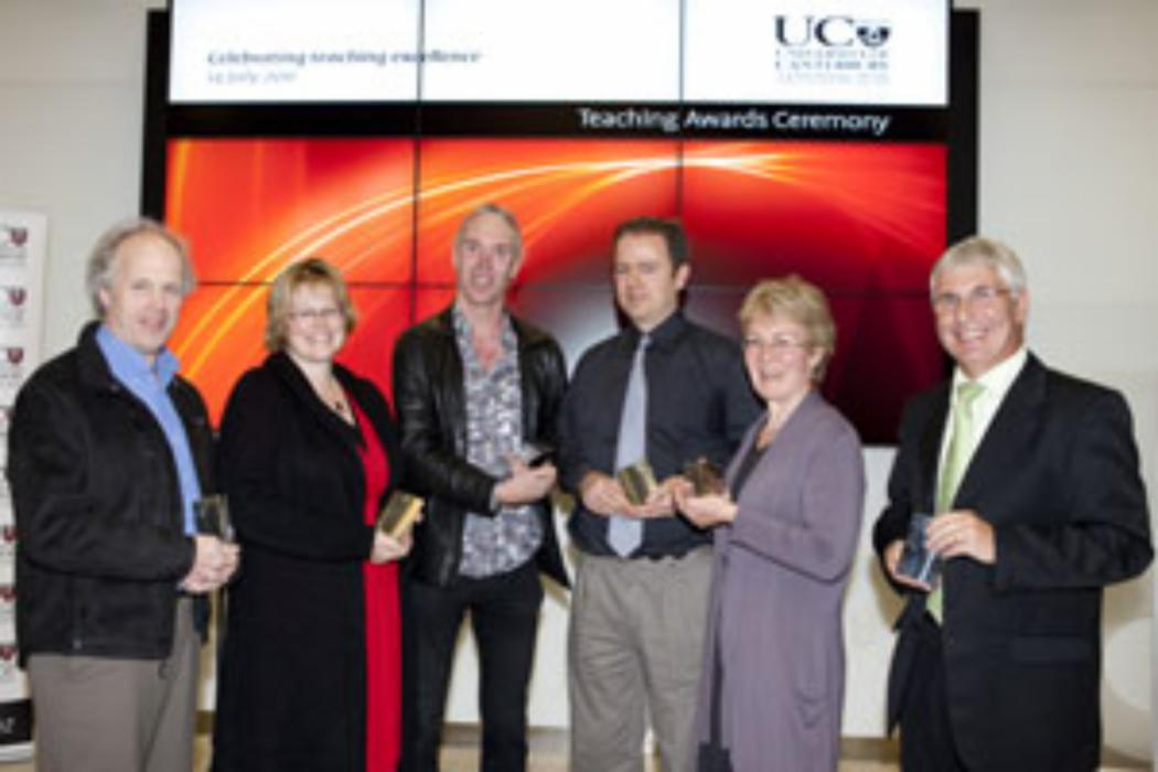 UC honours its outstanding teachers