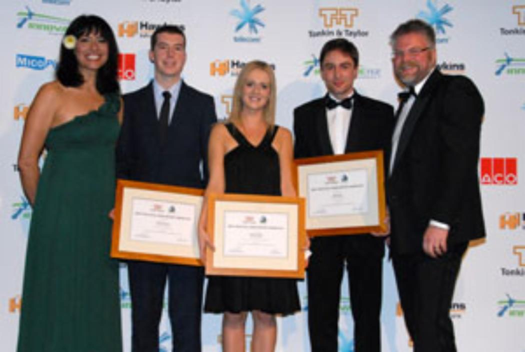 UC engineering students' work recognised