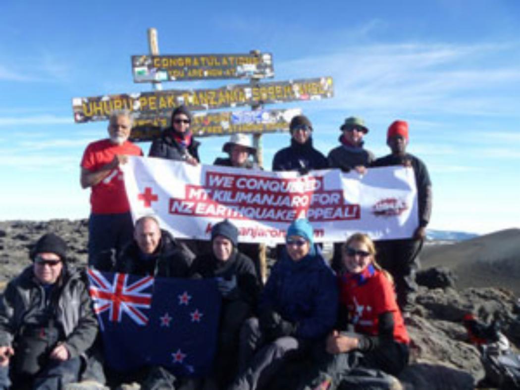 Conquering Kilimanjaro for Christchurch