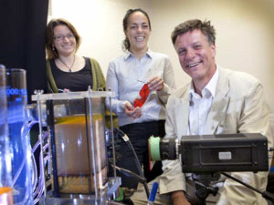 Erskine visits a catalyst for collaborative research