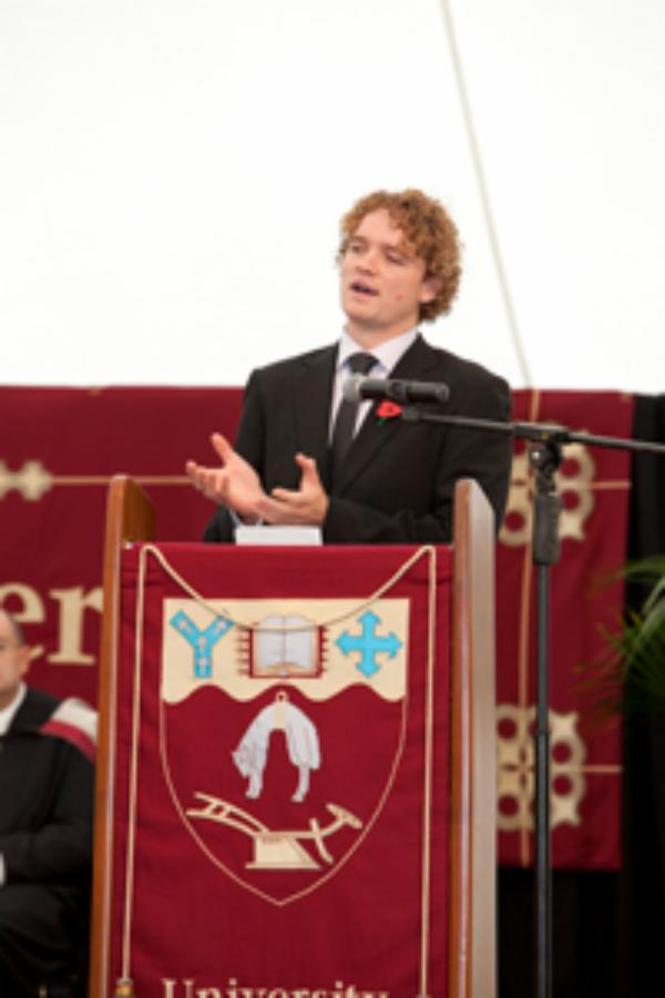 Graduates gather for memorable marquee celebrations