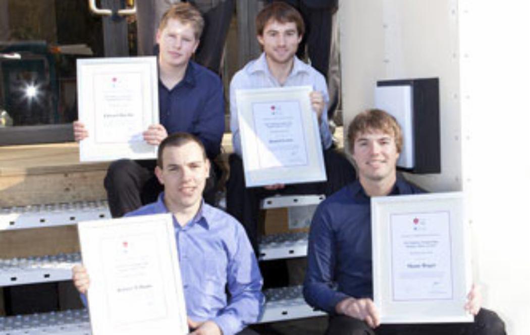 Engineering students win Trans-Tasman award