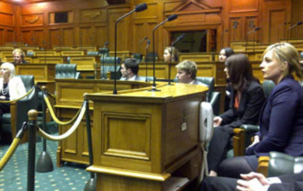 UC students mingle with MPs and diplomats