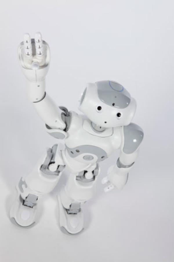 UC robots dance Gangnam Style!