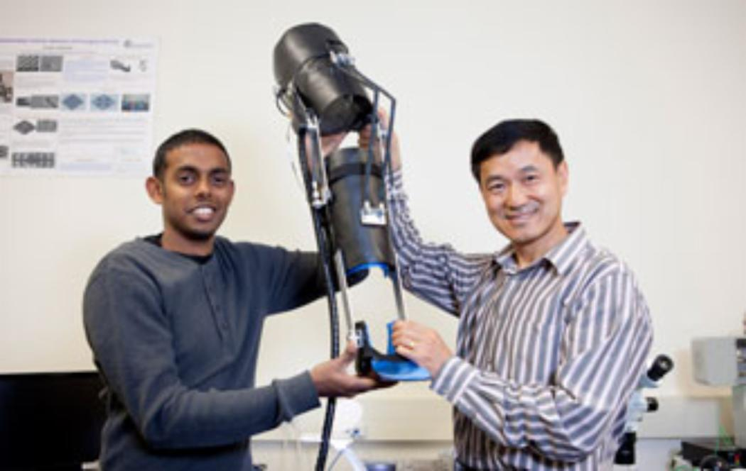 Exoskeleton to help people with knee joint issues