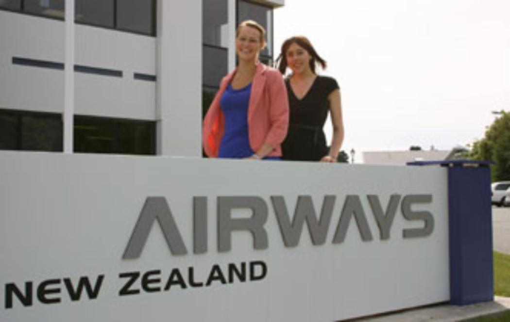 Interns playing crucial roles growing Airways NZ