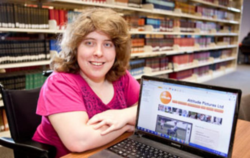 Student finalist in NZ Attitude disability awards