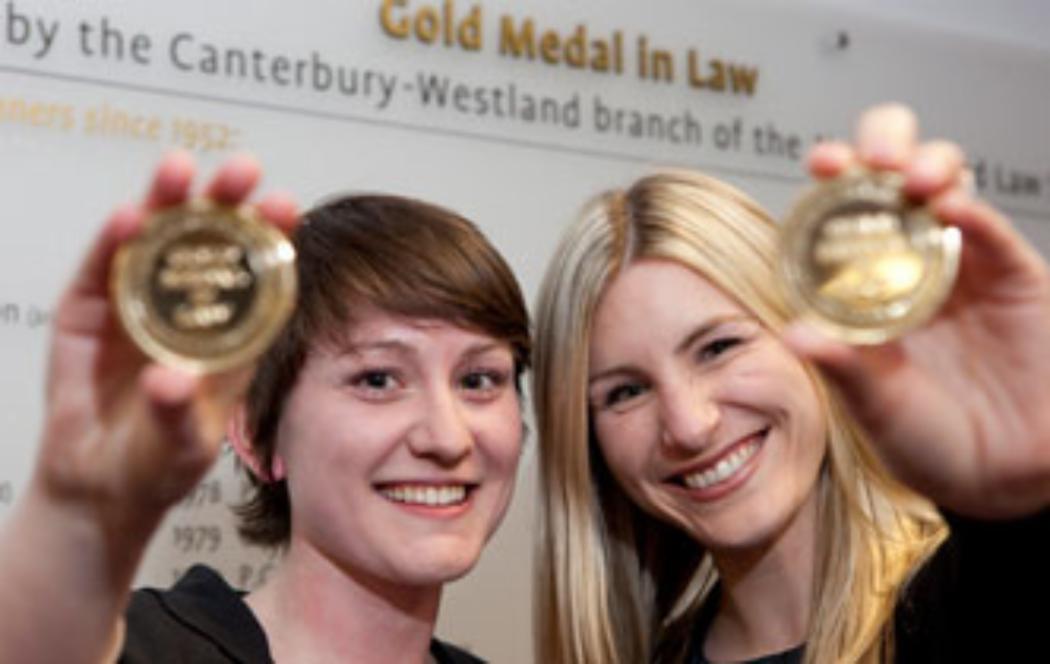 UC graduates win prestigious law medals