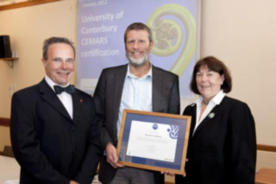 UC first to gain CEMARS carbon footprint certification