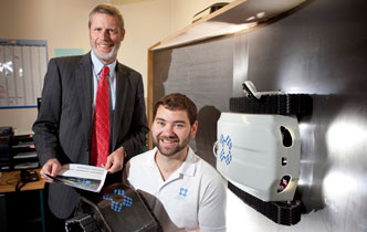 Wall-climbing robot brings in revenue