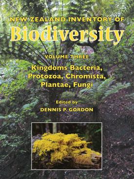 Third volume of NZ biodiversity inventory published