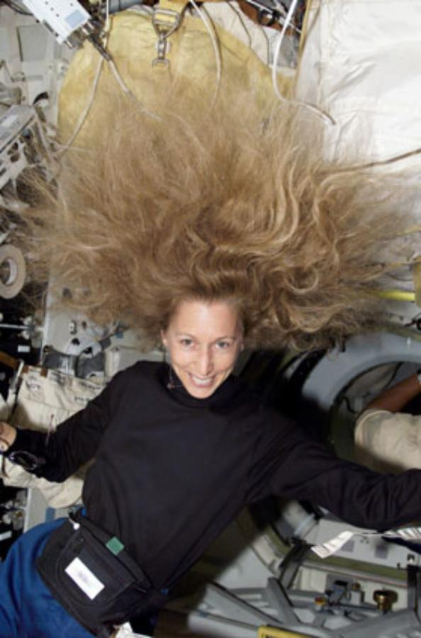 US astronaut describes first mission into space