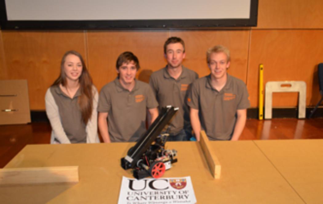 UC students win tertiary engineering design comp
