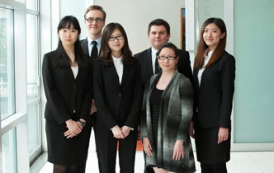Research challenge tests young financial analysts