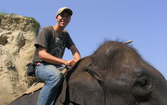 Expert to talk about captive elephants  - Imported from Legacy News system