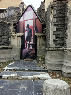 Post-quake street art focus of UC research - Imported from Legacy News system