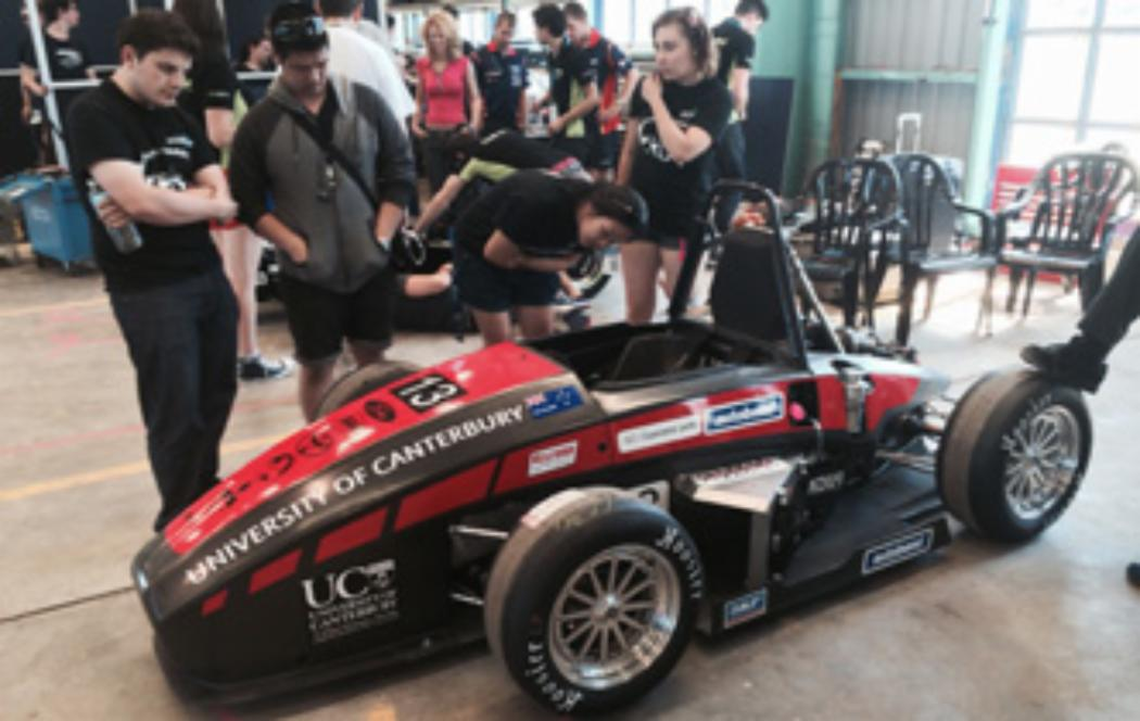 UC engineering car more sophisticated for 2014