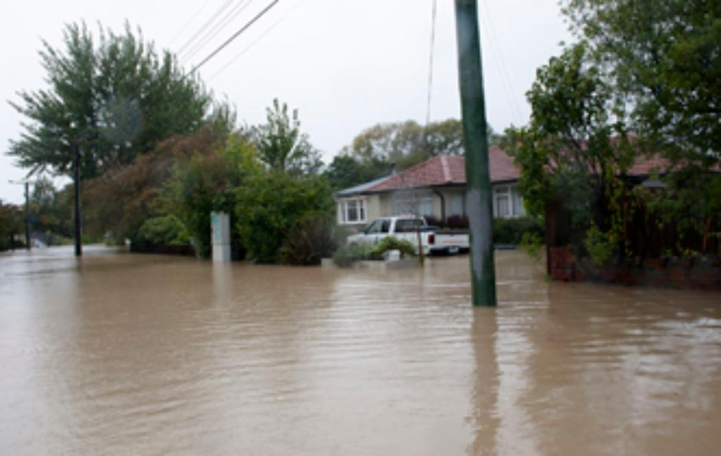 Christchurch experiences more flooding