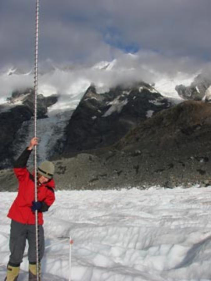 Glacier tourism potentially under threat
