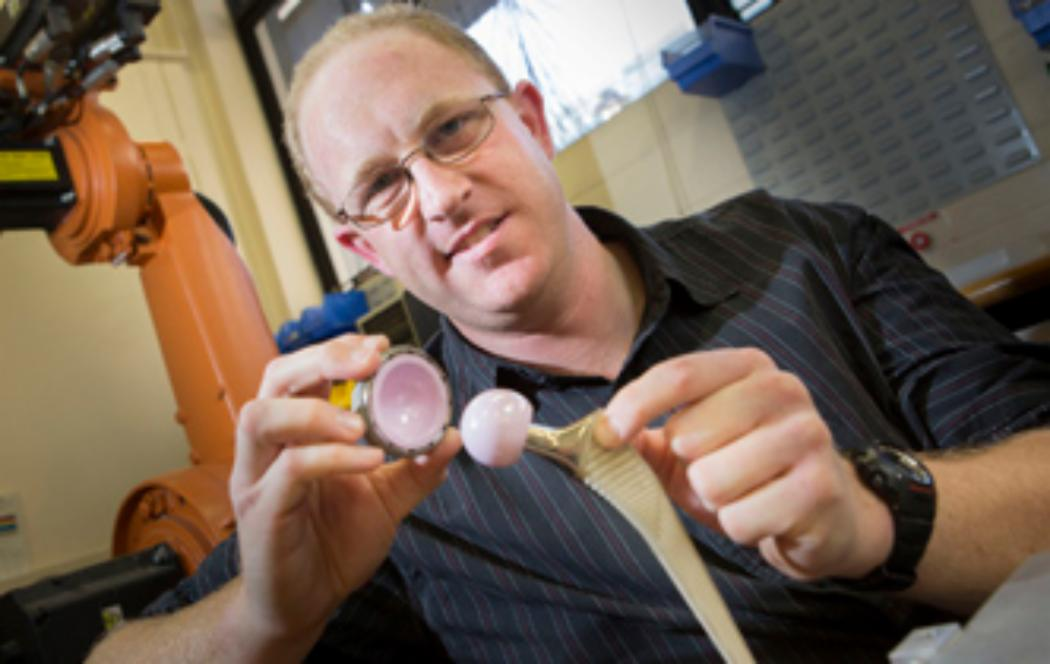 Canterbury researcher producing hip replacement