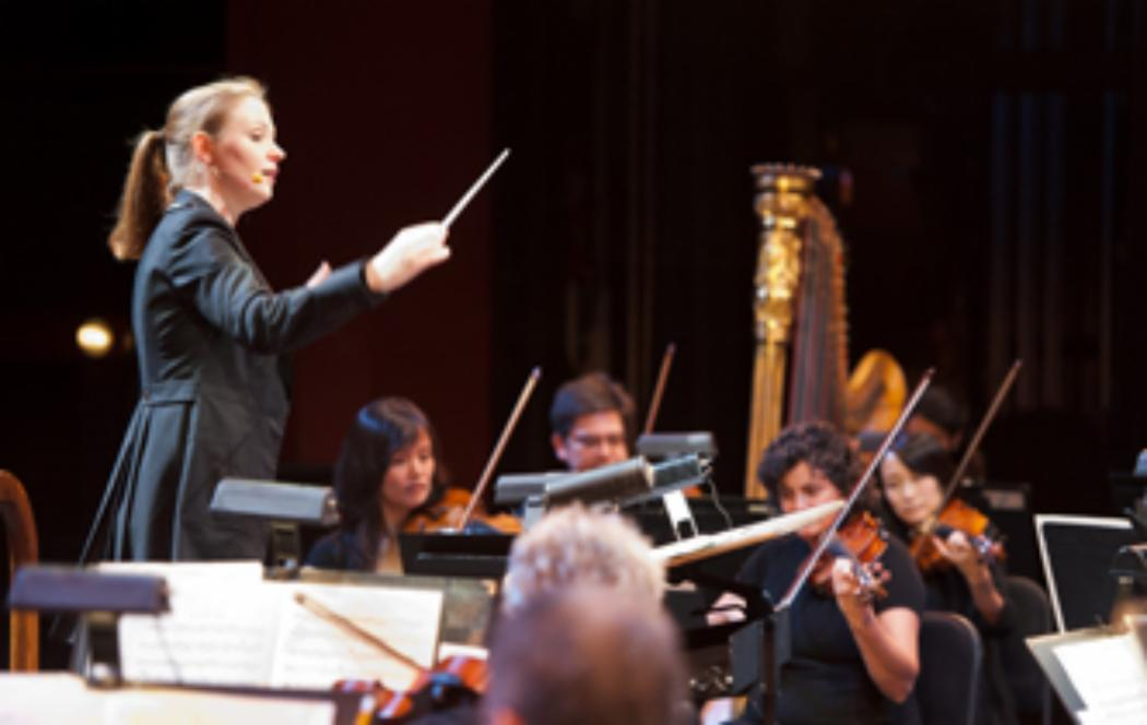 Canterbury graduate and rising young conductor