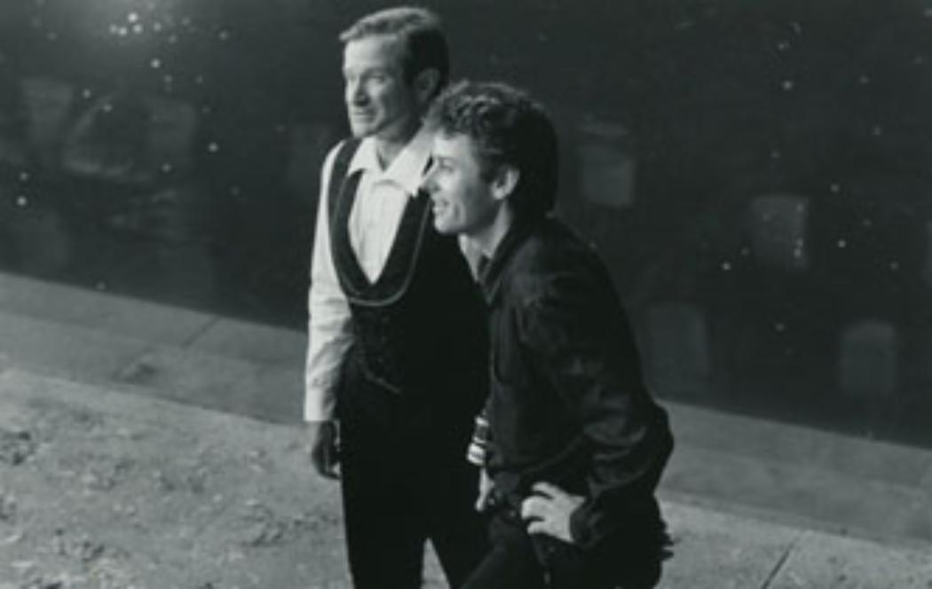 Film-maker pays tribute to Robin Williams