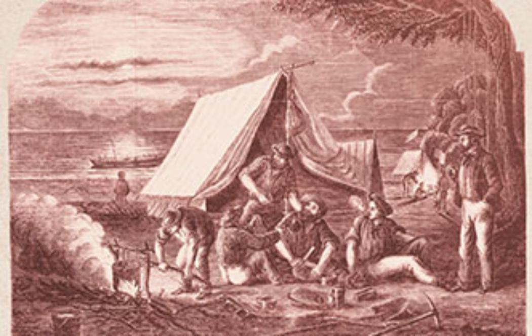West Coast gold rushes revived in book