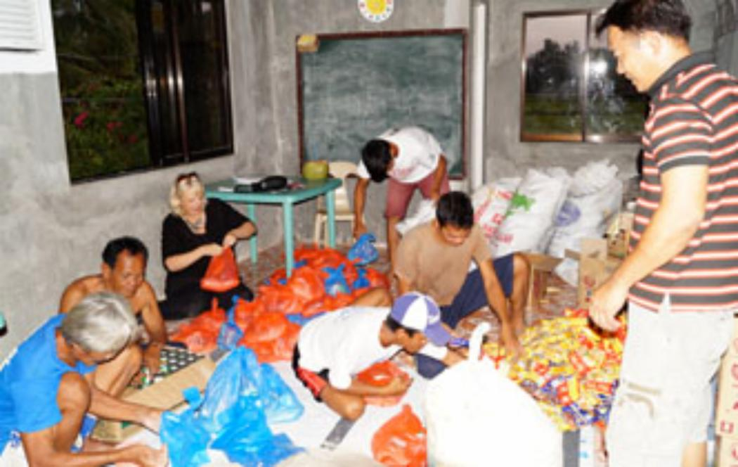 Aid worker says villagers desperate for help