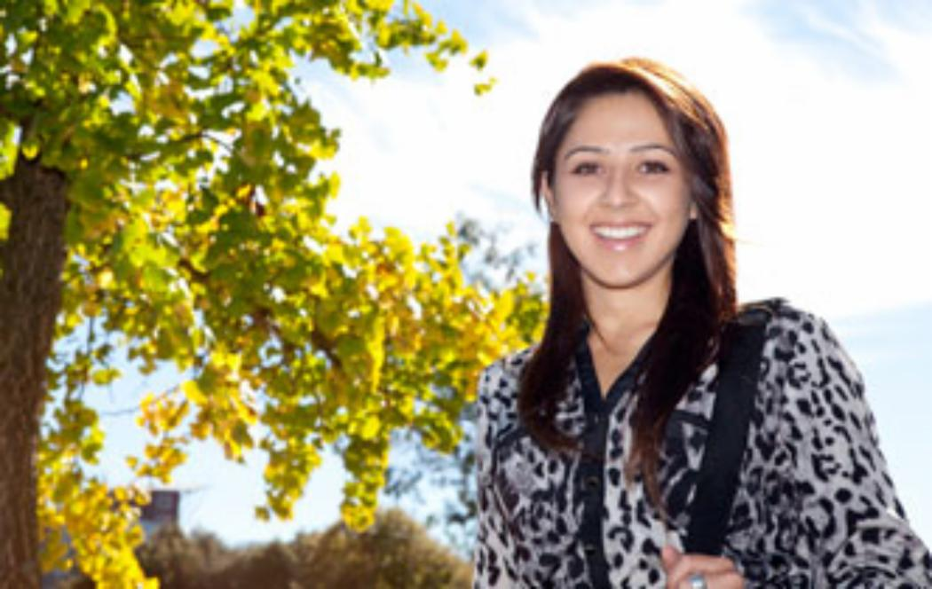 UC student wins business scholarship to India