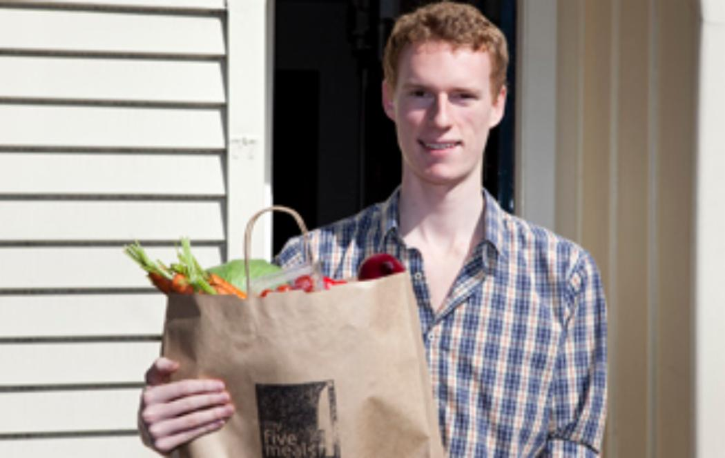 UC student to deliver meals to students
