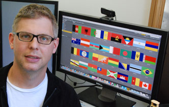 Popularity of national flag colours calculated  - Imported from Legacy News system