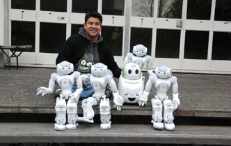 UC research cutting-edge human-robot interaction  - Imported from Legacy News system